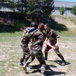 entrainement au combat