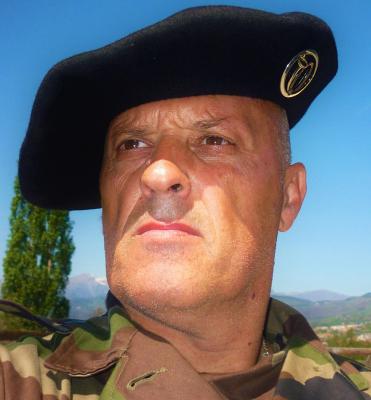 L'Adjudant ROCCA  Paul Chef du Pôle Réserve Citoyenne