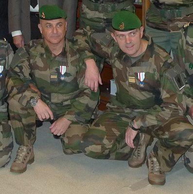Deux de nos réservistes de la Légion Etrangère