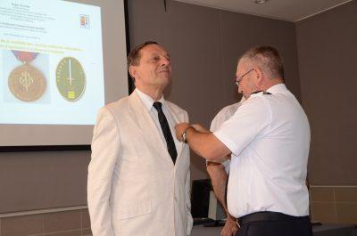 Les RDCS peuvent recevoir des Médailles